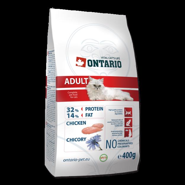 ONTARIO Cat Adult Chicken 400g