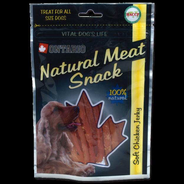 Snack ONTARIO Dog Soft Chicken Jerky 70g