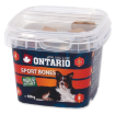 Snack ONTARIO Dog Sport Bones 100g