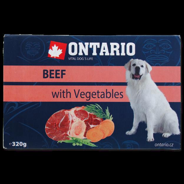 Vanicka ONTARIO Dog Beef with Vegetable 320g