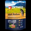 ONTARIO Dog Adult Medium Lamb & Rice 0,75kg