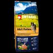 ONTARIO Dog Adult Medium Lamb & Rice 12kg