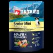 ONTARIO Senior Mini Fish & Rice 0,75kg