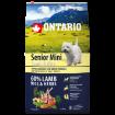 ONTARIO Senior Mini Lamb & Rice 6,5kg