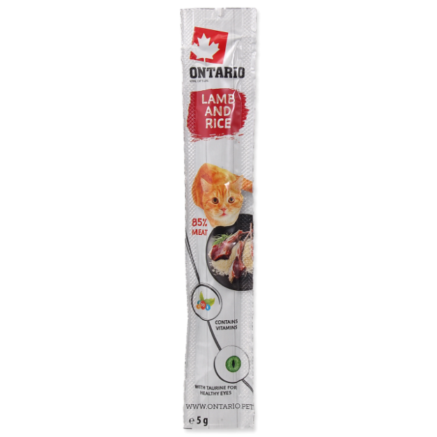 Stick ONTARIO for cats Lamb & Rice 5g