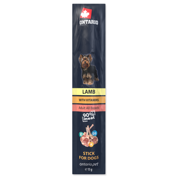 Stick ONTARIO for dogs Lamb 15g