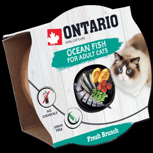 Kalíšek ONTARIO Fresh Brunch Ocean Fish 80g