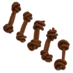 Snack ONTARIO Dog Rawhide Bone 7,5 cm 5ks