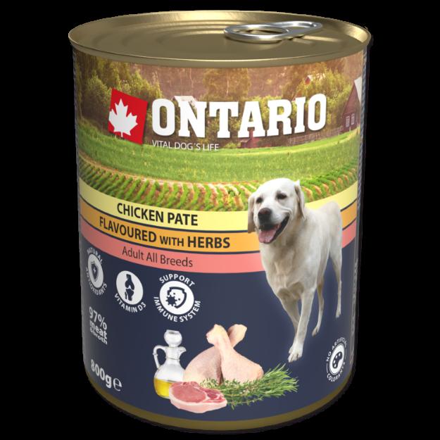 Obrázek Konzerva ONTARIO Chicken Pate Flavoured with Herbs